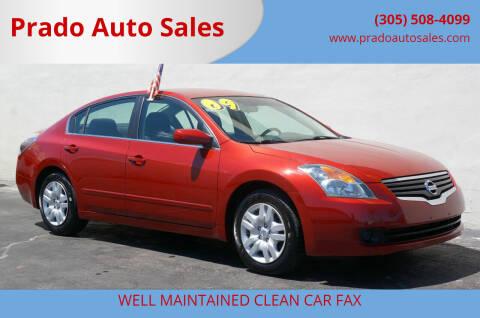 2009 Nissan Altima for sale at Prado Auto Sales in Miami FL