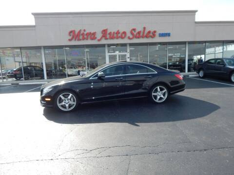 2014 Mercedes-Benz CLS for sale at Mira Auto Sales in Dayton OH