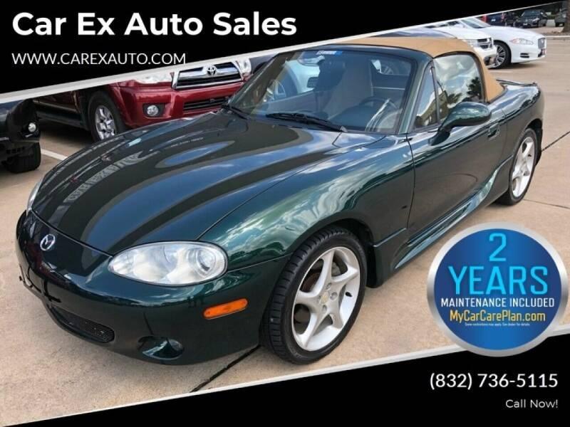 2001 Mazda MX-5 Miata for sale at Car Ex Auto Sales in Houston TX