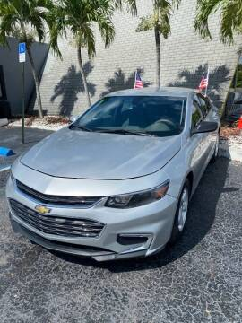2017 Chevrolet Malibu for sale at YOUR BEST DRIVE in Oakland Park FL
