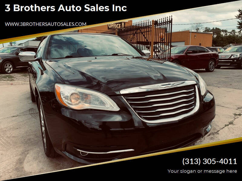 2011 Chrysler 200 Convertible for sale at 3 Brothers Auto Sales Inc in Detroit MI