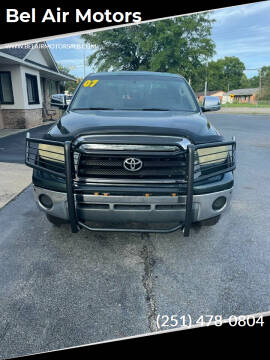 2007 Toyota Tundra for sale at Bel Air Motors in Mobile AL