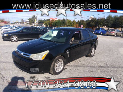 2008 Ford Focus for sale at J D USED AUTO SALES INC in Doraville GA