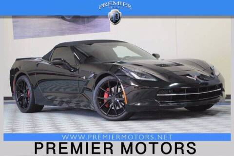 2016 Chevrolet Corvette for sale at Premier Motors in Hayward CA