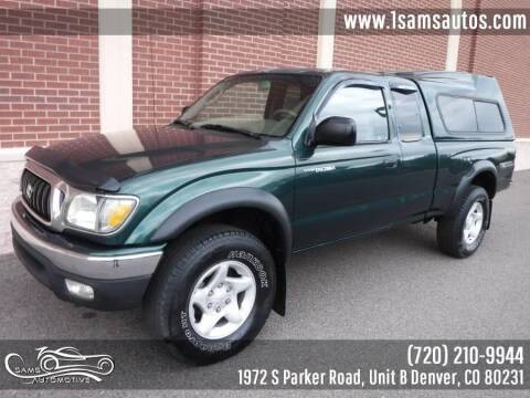 2001 Toyota Tacoma for sale at SAM'S AUTOMOTIVE in Denver CO
