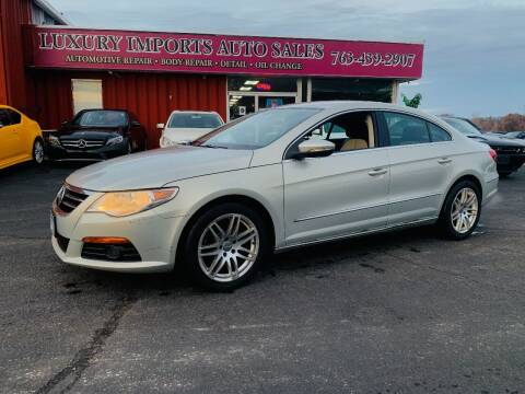 2009 Volkswagen CC for sale at LUXURY IMPORTS AUTO SALES INC in North Branch MN