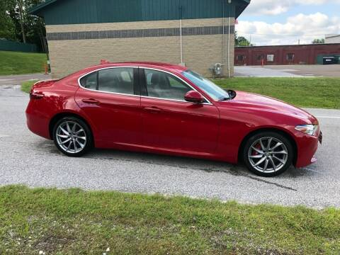 2017 Alfa Romeo Giulia for sale at Dussault Auto Sales in Saint Albans VT