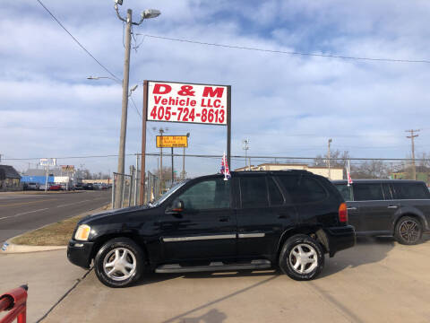 2002 GMC Envoy for sale at D & M Vehicle LLC in Oklahoma City OK