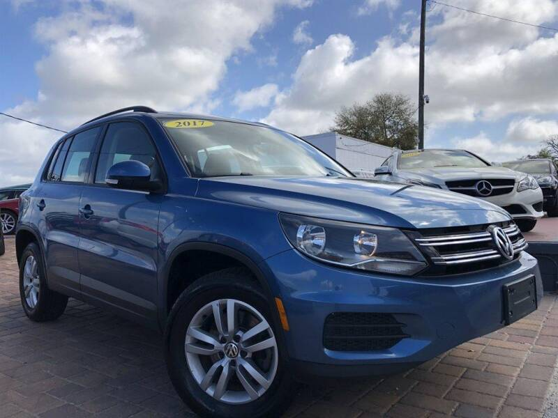 2017 Volkswagen Tiguan for sale at Cars of Tampa in Tampa FL