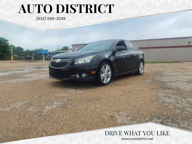 2012 Chevrolet Cruze for sale at Auto District in Baytown TX