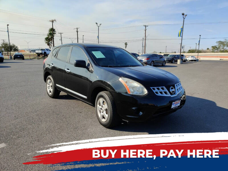 2013 Nissan Rogue for sale at Mid Valley Motors in La Feria TX