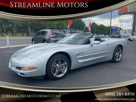 2000 Chevrolet Corvette for sale at Streamline Motors in Billings MT