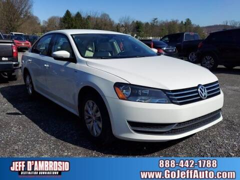 2015 Volkswagen Passat for sale at Jeff D'Ambrosio Auto Group in Downingtown PA