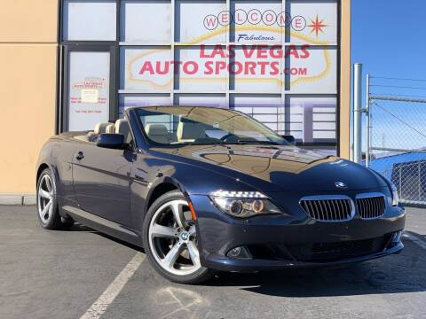 2008 BMW 6 Series for sale at Las Vegas Auto Sports in Las Vegas NV