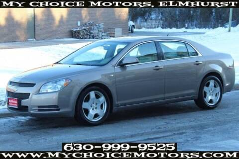 2008 Chevrolet Malibu for sale at My Choice Motors Elmhurst in Elmhurst IL