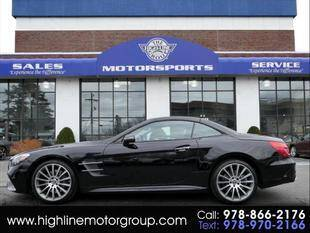 2017 Mercedes-Benz SL-Class for sale at Highline Group Motorsports in Lowell MA