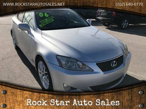 2006 Lexus IS 350 for sale at Rock Star Auto Sales in Las Vegas NV