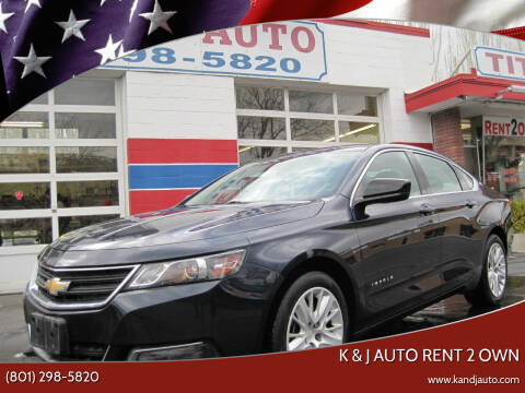 2017 Chevrolet Impala for sale at K & J Auto Rent 2 Own in Bountiful UT
