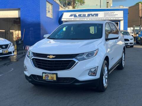 2018 Chevrolet Equinox for sale at AGM AUTO SALES in Malden MA
