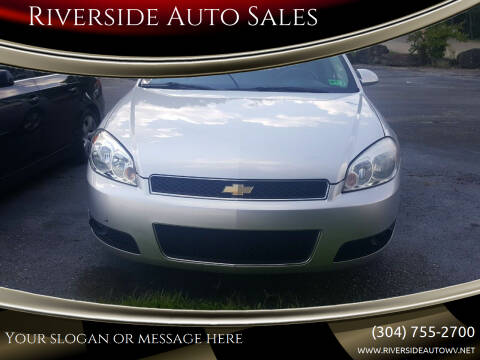 2012 Chevrolet Impala for sale at Riverside Auto Sales in Saint Albans WV