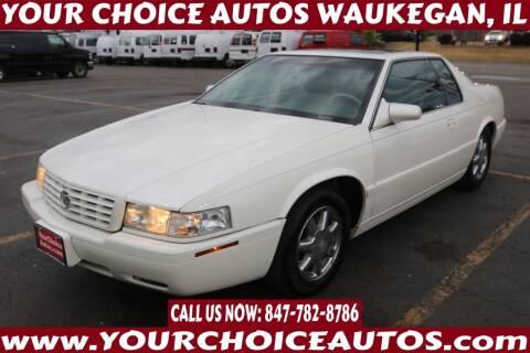 2000 Cadillac Eldorado for sale at Your Choice Autos - Waukegan in Waukegan IL