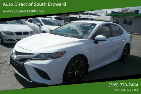 2019 Toyota Camry for sale at Auto Direct of South Broward in Miramar FL