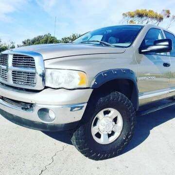 2004 Dodge Ram Pickup 2500 for sale at L.A. Vice Motors in San Pedro CA