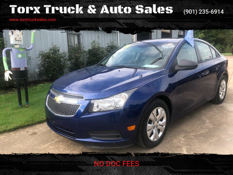 2013 Chevrolet Cruze for sale at Torx Truck & Auto Sales in Eads TN