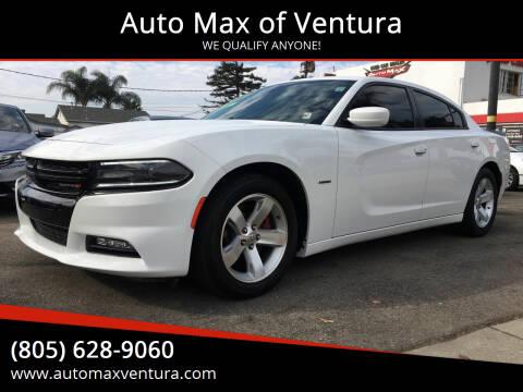 2016 Dodge Charger for sale at Auto Max of Ventura in Ventura CA