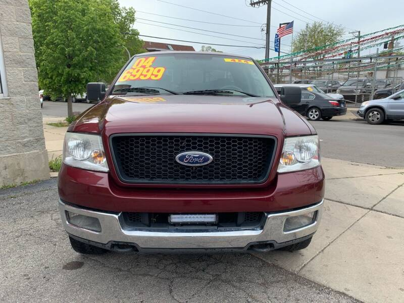 2004 Ford F-150 for sale at Alpha Motors in Chicago IL