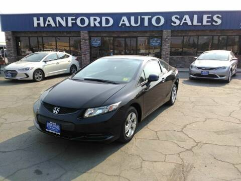 2013 Honda Civic for sale at Hanford Auto Sales in Hanford CA