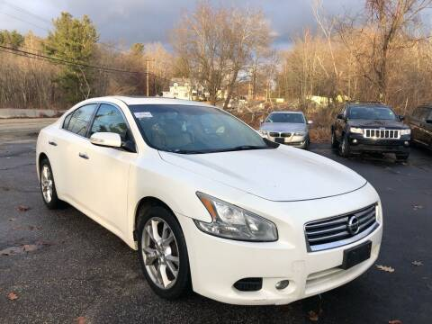 2012 Nissan Maxima for sale at Royal Crest Motors in Haverhill MA