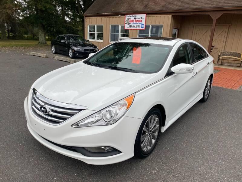 2014 Hyundai Sonata for sale at Suburban Wrench in Pennington NJ