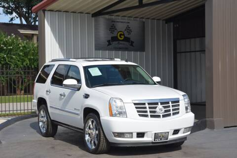 2014 Cadillac Escalade for sale at G MOTORS in Houston TX