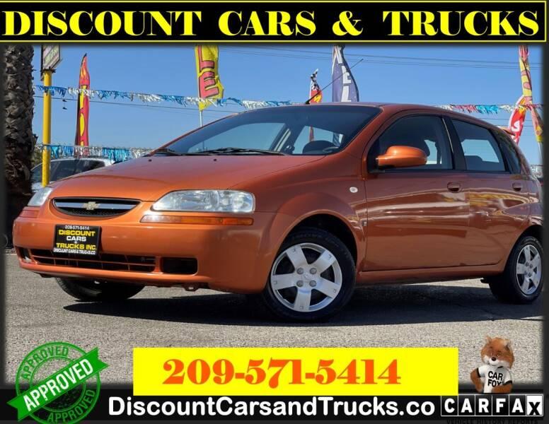 2007 Chevrolet Aveo for sale at Discount Cars & Trucks in Modesto CA