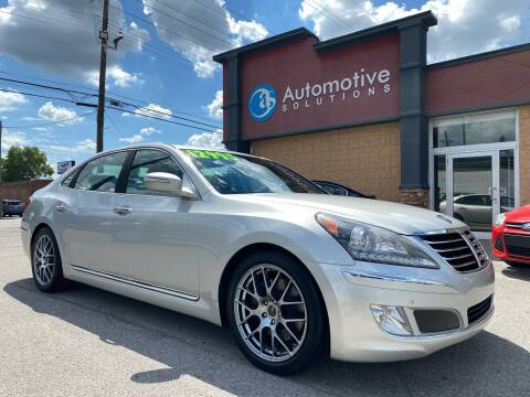 2011 Hyundai Equus for sale at Automotive Solutions in Louisville KY