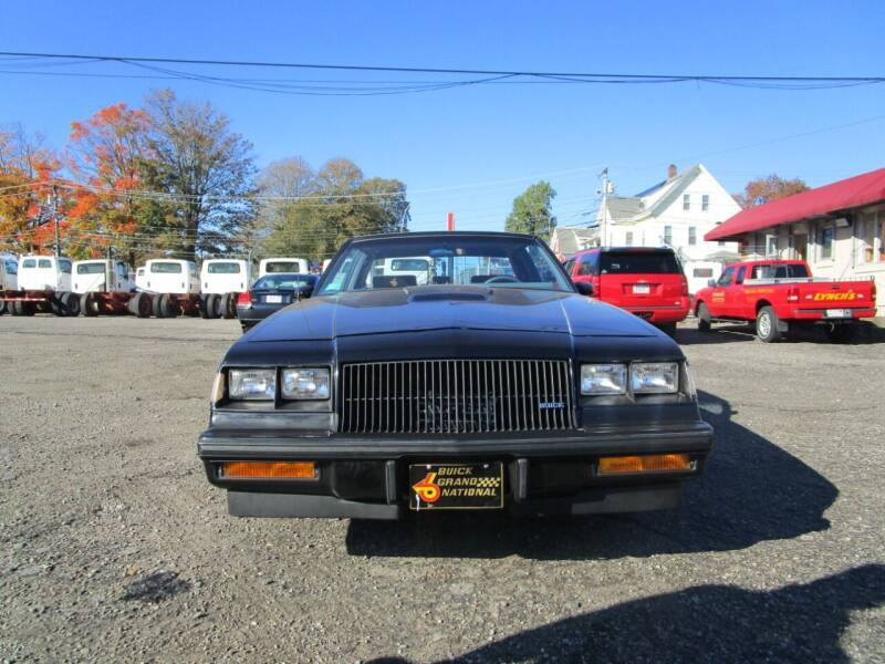 1987 Buick Regal for sale at Lynch's Auto - Cycle - Truck Center in Brockton MA