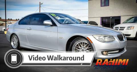 2011 BMW 3 Series for sale at Rahimi Automotive Group in Yuma AZ