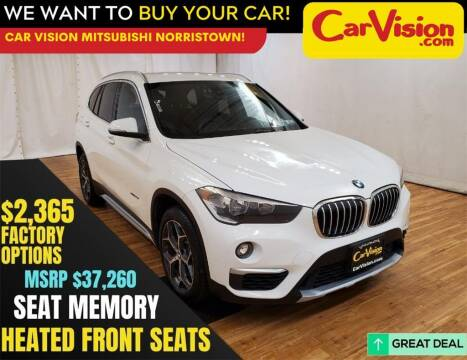 2018 BMW X1 for sale at Car Vision Mitsubishi Norristown in Trooper PA