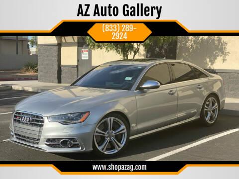 2013 Audi S6 for sale at AZ Auto Gallery in Mesa AZ
