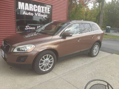 2010 Volvo XC60 for sale at Marcotte & Sons Auto Village in North Ferrisburgh VT