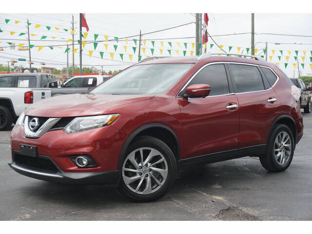 2015 Nissan Rogue for sale at Maroney Auto Sales in Humble TX