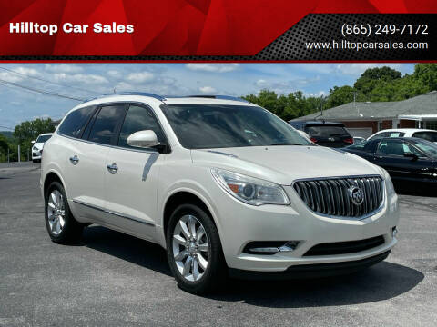2013 Buick Enclave for sale at Hilltop Car Sales in Knox TN