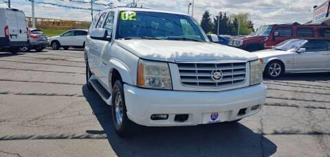 2002 Cadillac Escalade for sale at I-80 Auto Sales in Hazel Crest IL
