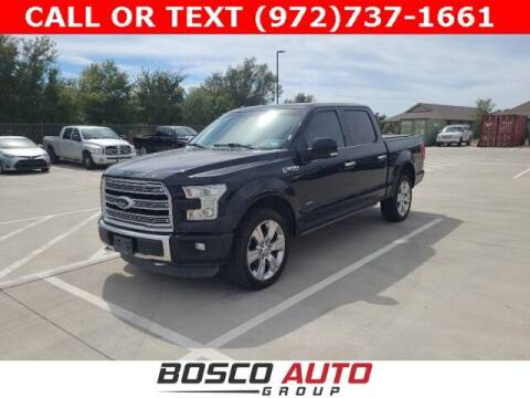 2016 Ford F-150 for sale at Bosco Auto Group in Flower Mound TX