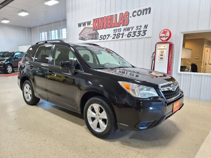 2016 Subaru Forester for sale at Kinsellas Auto Sales in Rochester MN