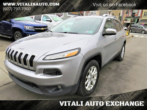 2014 Jeep Cherokee for sale at VITALI AUTO EXCHANGE in Johnson City NY