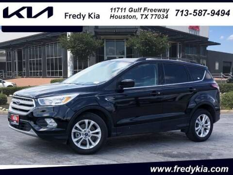 2018 Ford Escape for sale at FREDY KIA USED CARS in Houston TX