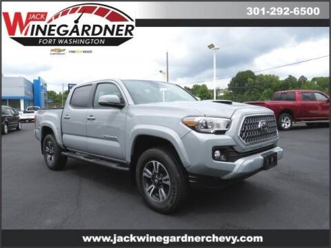2019 Toyota Tacoma for sale at Winegardner Auto Sales in Prince Frederick MD
