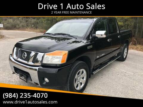 2011 Nissan Titan for sale at Drive 1 Auto Sales in Wake Forest NC